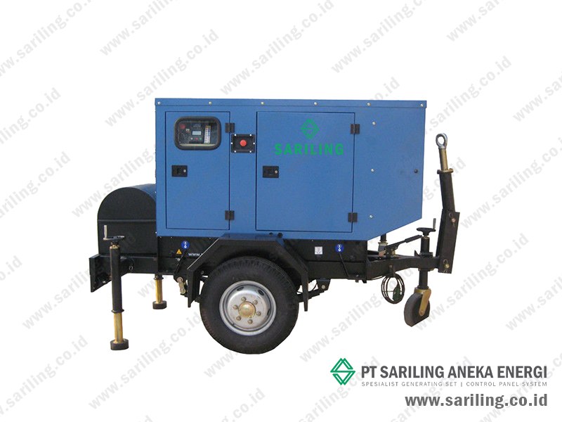 Distributor genset Yanmar Trailer